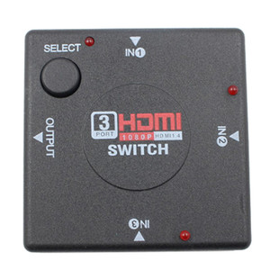 Image 5 - 1 adet HDMI Portu 1080 P Switcher XBOX 360 PS3 PS4 Android HDTV 3 Giriş 1 Çıkış 4 K adaptörü HDMI dağıtıcı 3/5 Bağlantı Noktası HDMI Anahtarı