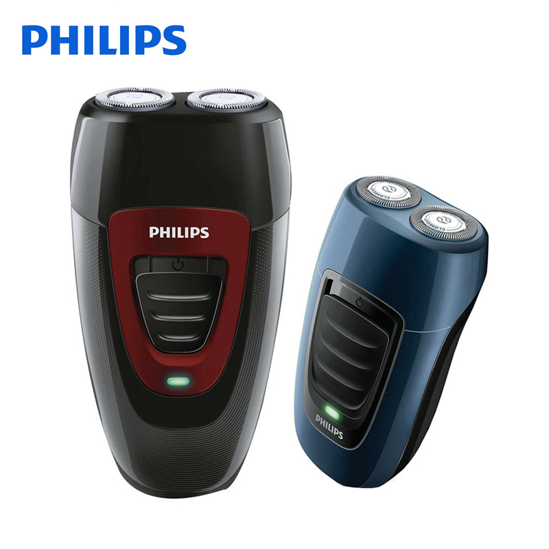 Philips Electric Shaver PQ182 & PQ190 Rechargeable For Men Double Heads Philips Shaving Machine 220V Face Care Electric Razor electric shaver philips pq187 rechargeable for men with double heads rotary floating knife support 220v