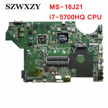 MSI GE62 2QD MS-16J21 Rev: 1.0 Motherboard Laptop I7-5700HQ 2.7 GHz CPU GTX960M Penuh Diuji Gratis Pengiriman(China)