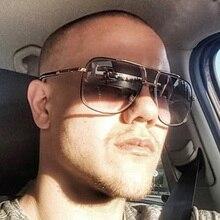 MIZHO 2019 New Style Sunglasses Men Brand Designer Superstar Eyewear Driving Oculos De Sol Masculino Grandmaster Sunglass Man