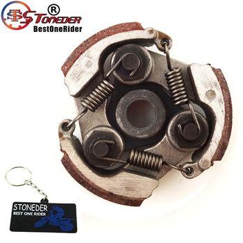 STONEDER sprzęgło dla 2 suwowy 47cc 49cc silnik Mini brud dzieci moto atv quad 4 Wheeler moto gokart motorynka Mini moto tanie i dobre opinie 00inch Iso9001 Aluminum Zestawy łańcuchowe 0 17kg Clutch For 2 Stroke 47cc 49cc Engine Mini Dirt Kids