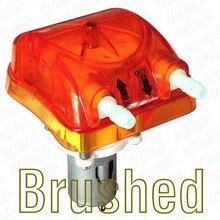 500 мл/мин., 12Vdc перистальтический насос с прозрачной оранжевый Exchangeable напор насоса и FDA PharMed BPT перистальтического трубки
