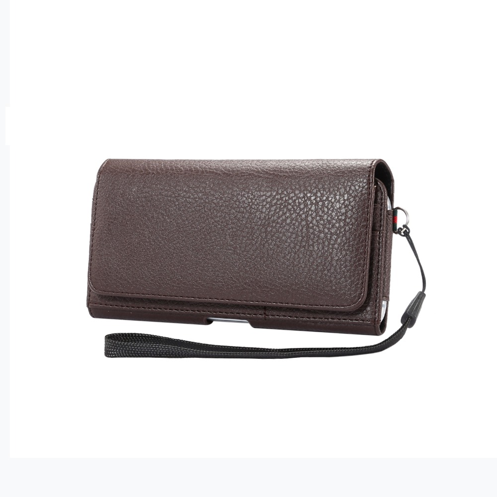 Case For <font><b>Philips</b></font> <font><b>V787</b></font> /S396 /I908 /S316 /S356t Horizontal Waist Holster Bag With Card Slots Magnetic Pouch Litchi pattern Cover image