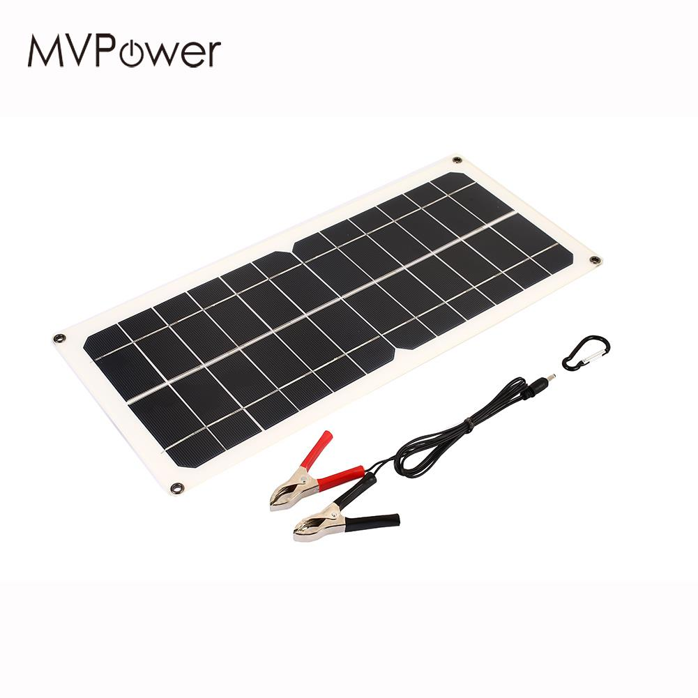 Durable Emergency Power Supply Travel Solar Panel Solar
