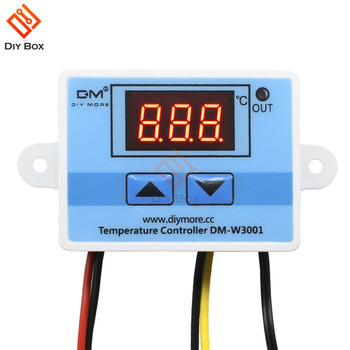 12V 24V 110V 220V LED Digital Temperature Controller Thermostat Thermoregulator Sensor Meter Incubator Fridge Heating Cooling w3230 switch temperature controller high accuracy digital meter led digital display heating cooling sensor instruments