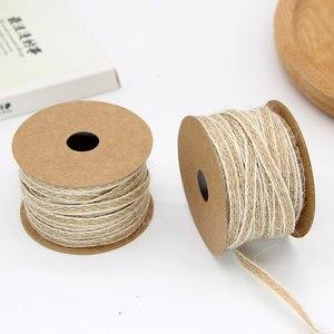 Image 2 - 10 м/рулон, джутовая лента для рукоделия