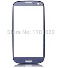 Whole Sale 5pcs/lot Pebbl-e Blue Outer Glass Lens for Samsung Galaxy S3 i9300  High Quality New Free Shipping