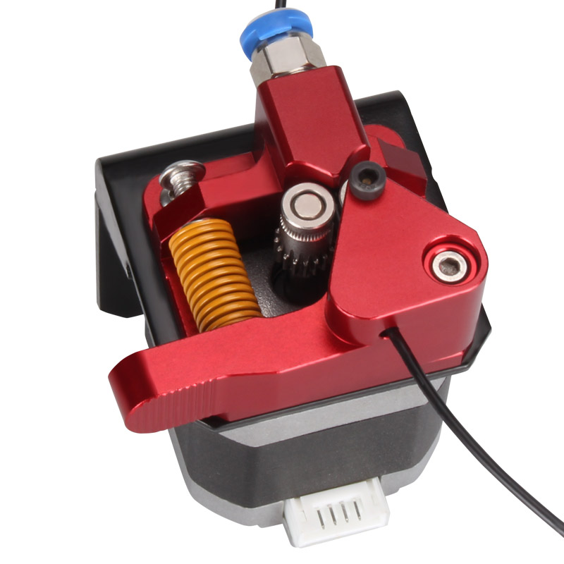Aluminum Upgrade Dual Gear Mk8 Extruder Kit For CR-10S RepRap 1.75mm 3D PRINTER  Feed Double Pulley Extruder