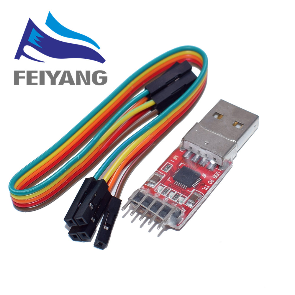 1pcs CP2102 module <font><b>USB</b></font> to TTL serial UART STC download cable PL2303 Super Brush line upgrade image