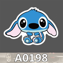 A0198 Spoof Anime Punk Cool Sticker for Car Laptop Luggage Fridge Skateboard Graffiti Notebook Scrapbook Scooter Stickers Toy