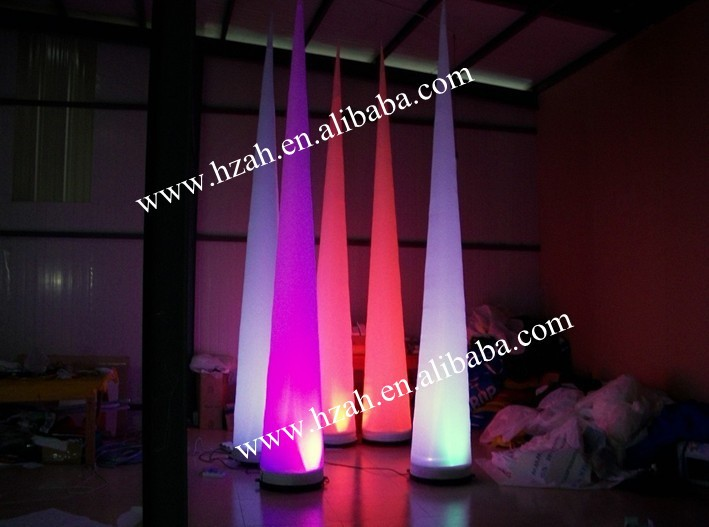 Cheap Led Inflatable Decoration Inflatable Cone