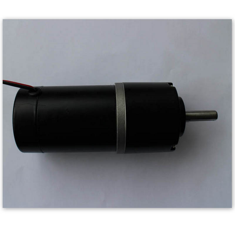 Permanent magnet dc gear motor 24V 15W 60RPM 45ZY48HX Brushed CE For machine driver Advertisement lamp box with gear 40w 50w hand cranked generator dc small generator 12v 24v permanent magnet dc motor dual use