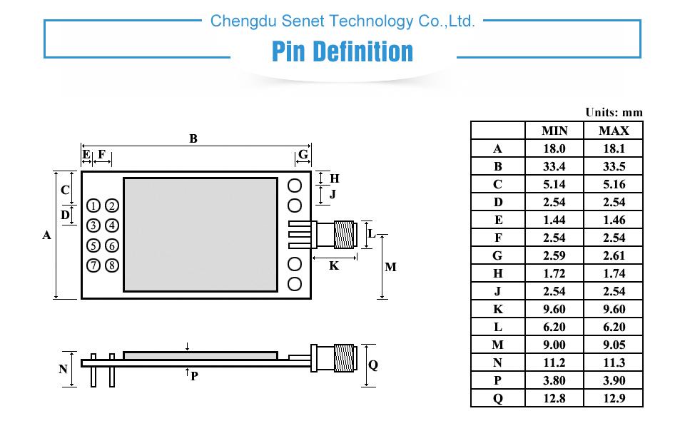 E01-ML01DP5 SPI nRF24L01+PA+LAN Module (4)