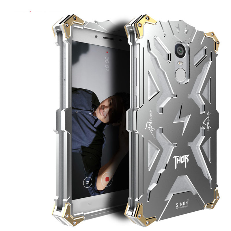 Redmi Note 4X Case Zimon Shockproof Heavy Metal Armor Case Cover For Xiaomi Redmi Note 4