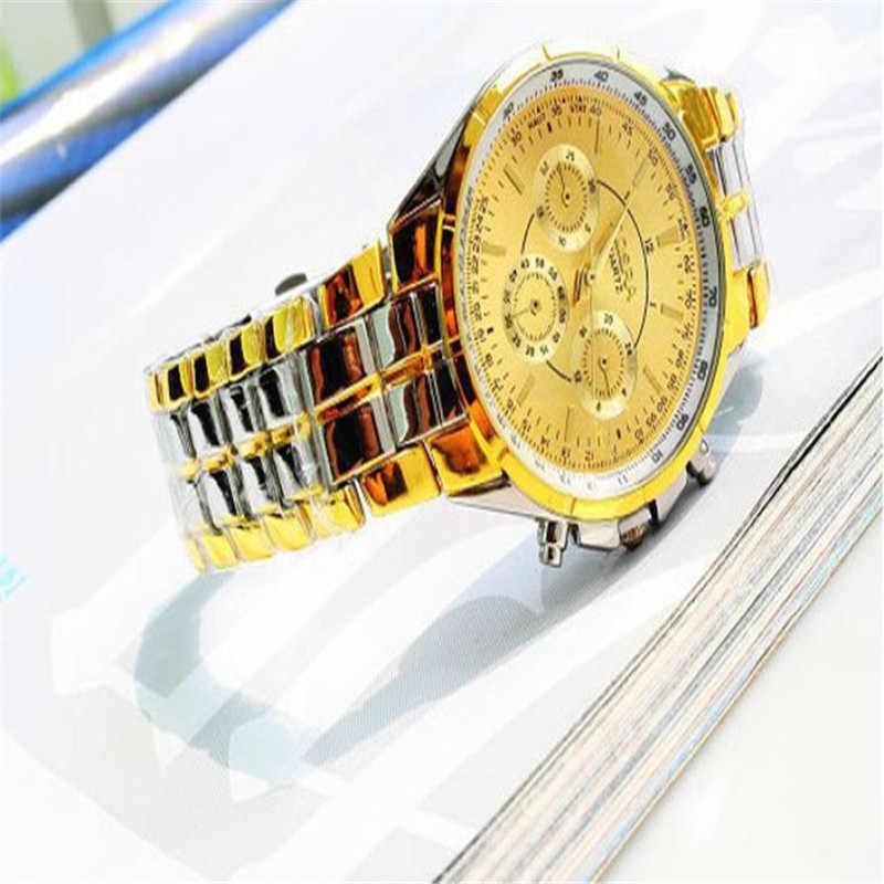 מותג יוקרה גברים שעוני קוורץ תכליתי ספרות רומית צבאי ספורט שעון צלילה שעוני יד Reloj Hombre שעון זכר # D