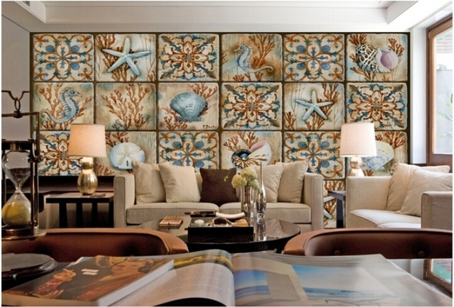 African Living Room Furniture. Custom photo wallpaper African Style Art Collage mural living  room sofa bedroom TV background