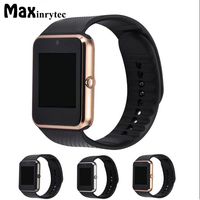Bluetooth Smart Watch GT08 Camera Android SmartWatch MP3 Player Montre Connecte Support SIM Card Watch PK
