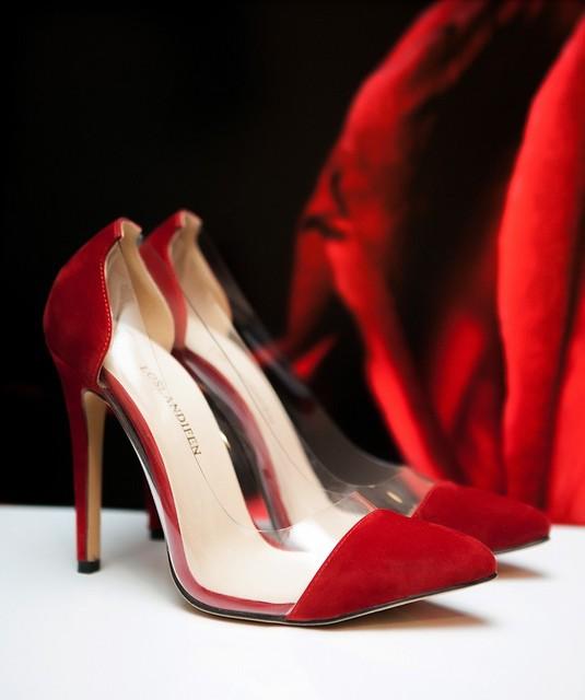 Para mujer de Cuero de TERCIOPELO Tacones Altos Corsé Party Punta estrecha Zapatos de Boda de Las Señoras Bombas Tamaño EE.UU. 4-11 302-27VE