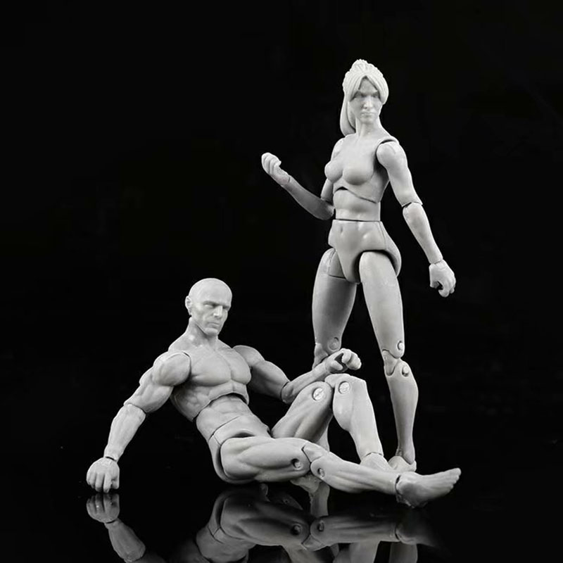 Toys Dolls Limbs Action-Figure Mannequin-Art Figma Body-Model Movable Draw Artist Sketch