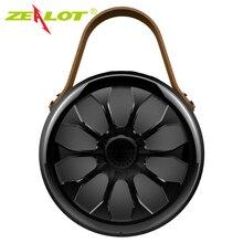 Zélot S11 haut parleur Bluetooth étanche IP67 basse extérieure stéréo sans fil Sport Subwoofer + batterie externe + lampe de poche led
