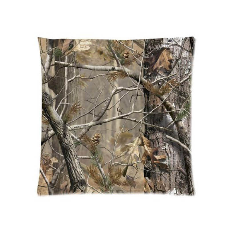Real Tree Camo Camouflage Cushion Cover For Sofa Home Decorative Throw Pillow Case Chair Car Seat