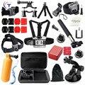 Gopro Accessories Set Mount SJCAM SJ7000 60 brust xiaomi yi camera Case Tripod For Go pro Hero 5 4 3 + 2 Black Edition