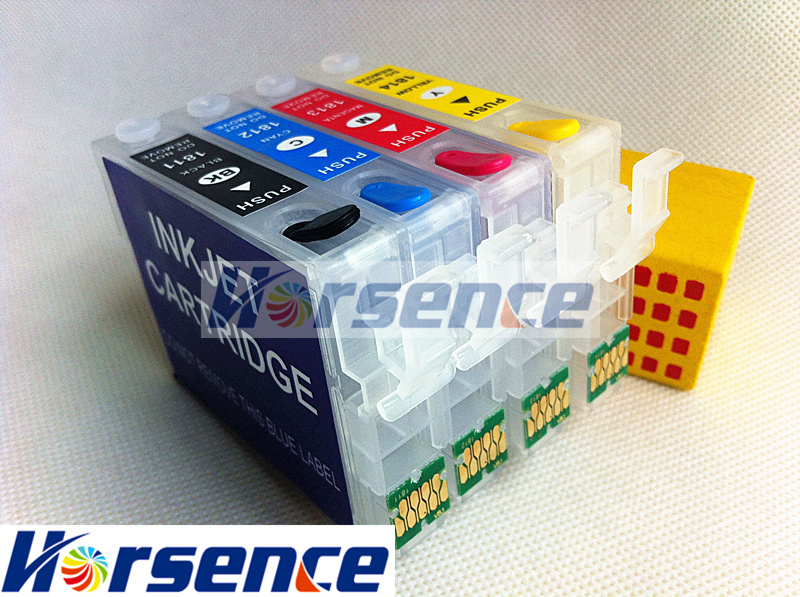 T1811XL T1815XL Refillable ink cartridge For Epson XP 325 ...