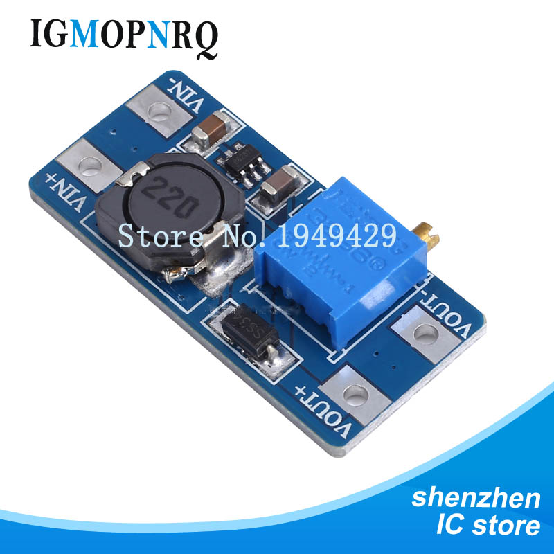 5pcs MT3608 2A Max DC-DC Step Up Power Module Booster Power Module