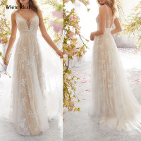 Lace Wedding Dress Best Seller List Bridal Dresses Sleeveless Tulle Sexy Backless Party Night Club Dress