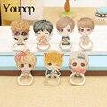 Kpop Exo LUHAN Youpop LU HAN reloaded Álbum Monstro Caso K-POP Anel Anéis de Dedo Stand Titular de 360 Graus ZHK