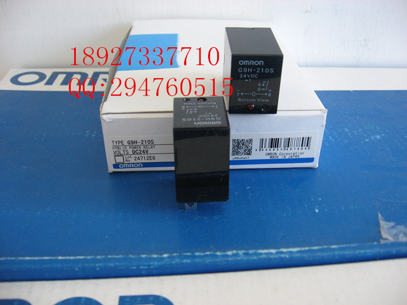 [ZOB] Supply of new original Omron solid state relays omron G9H-210S DC24V цена