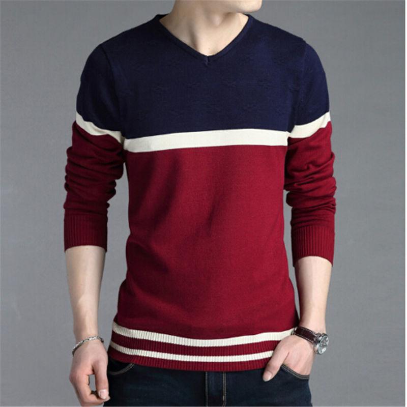 2017 New Sweater Men, Men's Fashion Knitwear Men Pullovers Sweater Jumpers Men Casual Sweater Hot Sale