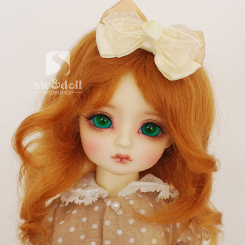 wig for BJD 1/4,1/6 ,BJD wig for doll.A15A814.Wig accessories not include.Doll and Clothes not include 1 3 1 4 1 6 1 8 1 12 bjd wigs fashion light gray fur wig bjd sd short wig for diy dollfie