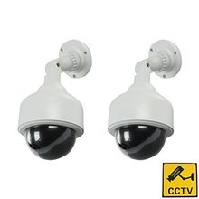 Top Quality Outdoor Wireless IR Surveillance Dummy Fake CCTV Security Camera LED Flashing Indoor/Outdoor