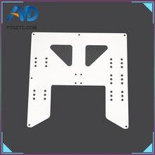 Prusa I3 Anet A8 A6 3D-принтеры обновления Y перевозки анодированная алюминиевая пластина для A8 очаг Поддержка для Prusa I3 Anet A8 3D-принтеры s