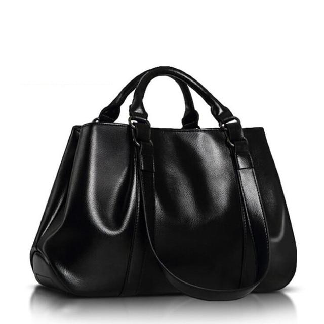 Big New Women Shoulder Bags Fashion Ladies Leather Bags Women Handbags Of Famous Brands Totes 2016 Sac Espagnol Crossbody Bags