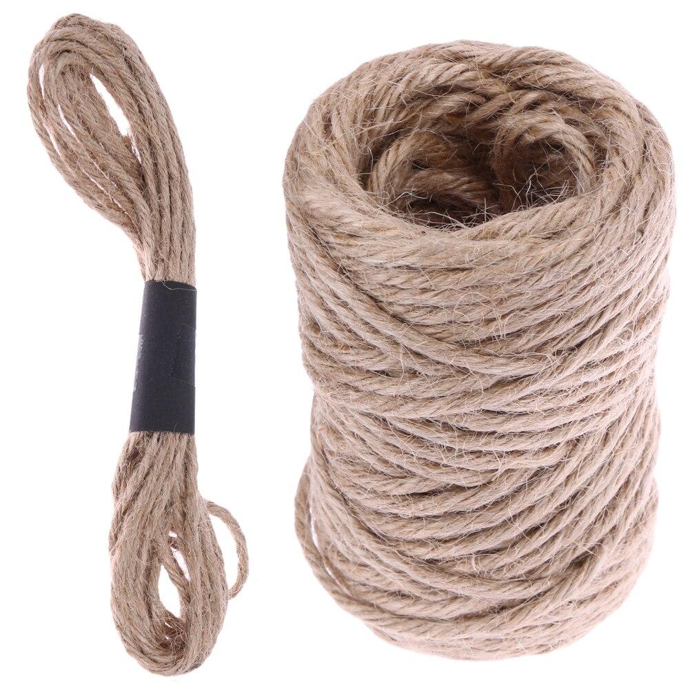 1 rollo 5 m137 m cable de cuerda cuerda de camo cuerda de yute