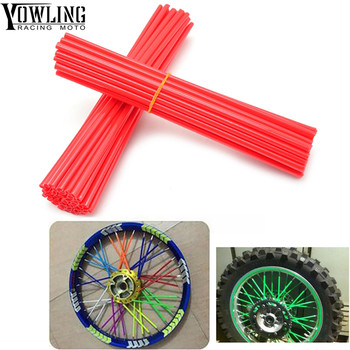 36Pcs Wheel RIM Spoke Sticker Accessories Dirt Bike For HONDA CR CRF SL XR CRM 80 85 125 150 230 250 400 450 650 1000 R X AR M L image