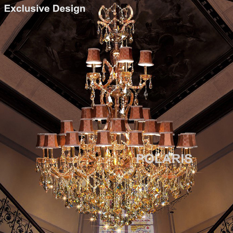 Hotel Lobby Chandelier Maria Theresa Crystal Chandeliers