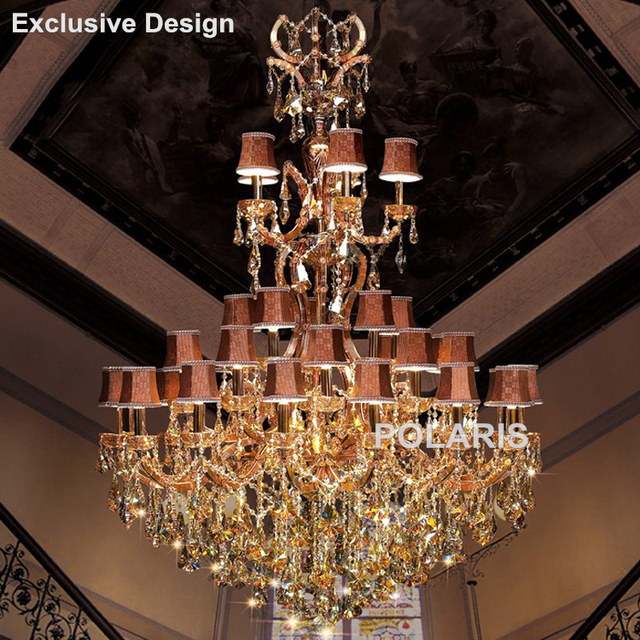 Hotel lobby chandelier maria theresa crystal chandeliers large hotel lobby chandelier maria theresa crystal chandeliers large luxury classic hanging lamps home light lighting with mozeypictures Images