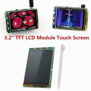 Image 2 - 무료 배송 3.2 인치 TFT LCD 디스플레이 모듈 터치 스크린 라스베리 파이 B + B A + 라즈베리 파이 3