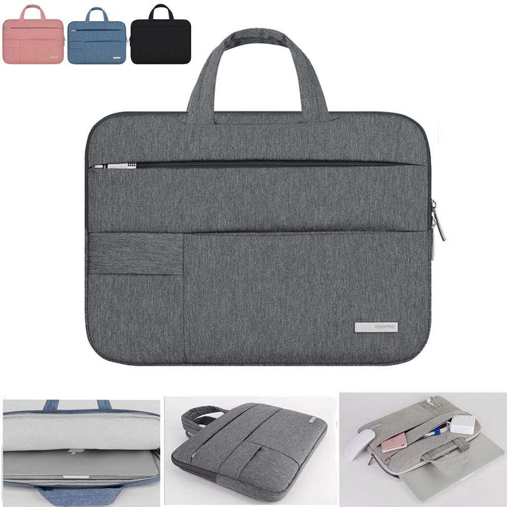 Laptop Sleeve Case Bag for Macbook Air 11 13 Pro 13 New Retina 13 Cover Notebook Portable Handbag 14 13.3 15.6-in Laptop Bags & Cases from Computer & Office