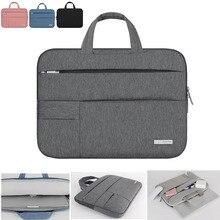 حقيبة لاب توب حالة شنطة لحمل macbook الهواء 11 13 برو 13 جديد الشبكية 13 غطاء دفتر المحمولة حقيبة يد 14 13.3 15.6