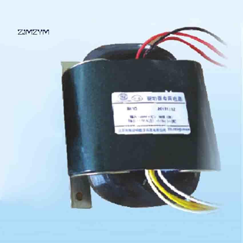 ZJMZYM haute qualité B110 transformateur AC17V/1A AC120V/3.4A Installation horizontale R transformateur de noyau pour lecteur pas à pas offre spéciale
