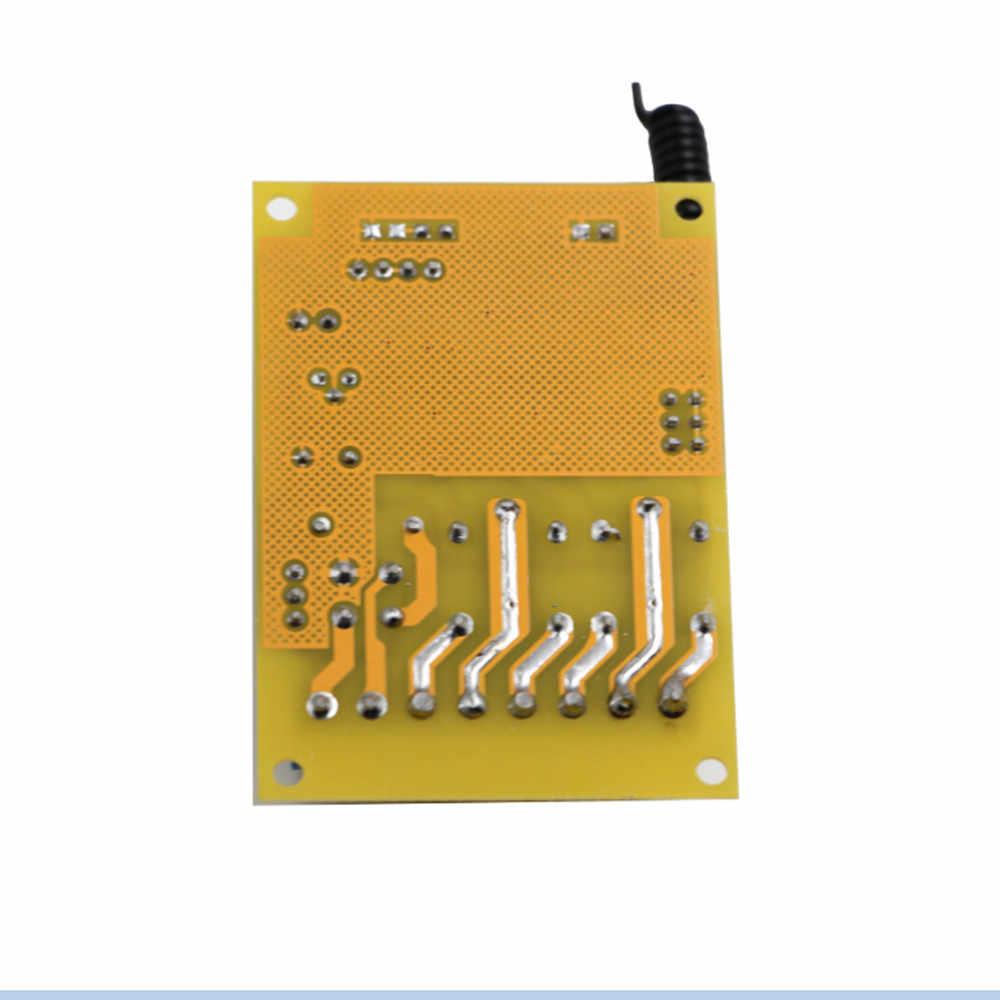 تيار مستمر 12 فولت 24 فولت 2CH اللاسلكية التحكم عن بعد التبديل 2 * استقبال المجلس و مقاوم للماء الارسال للأجهزة بوابة باب المرآب