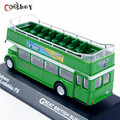 1:76 Scale Great British Buses ATLAS Double-decker Bus Toys Diecast  Bus Model Juguetes Collectible Model Car Gift