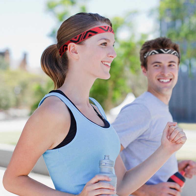 2018 스포츠 머리띠 남자 여자 머리 땀 밴드 실행 축구 테니스 Headscarf 실리콘 Anti-slip 탄성 Sweatband HairBand