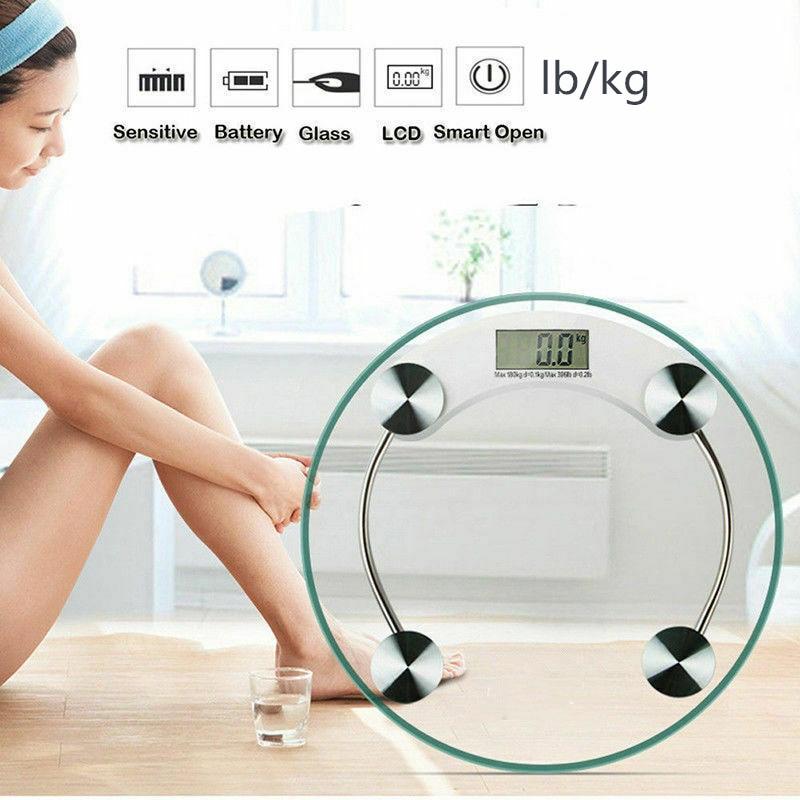 bathroom scale body digital scale weighing scale digital weight scale electronic weight scale household lb/kg