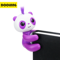 DOOLNNG New Fingertip Panda Intelligent Interactive Cute Pet Battery Toy Cartoon Electric Education Toys For Children