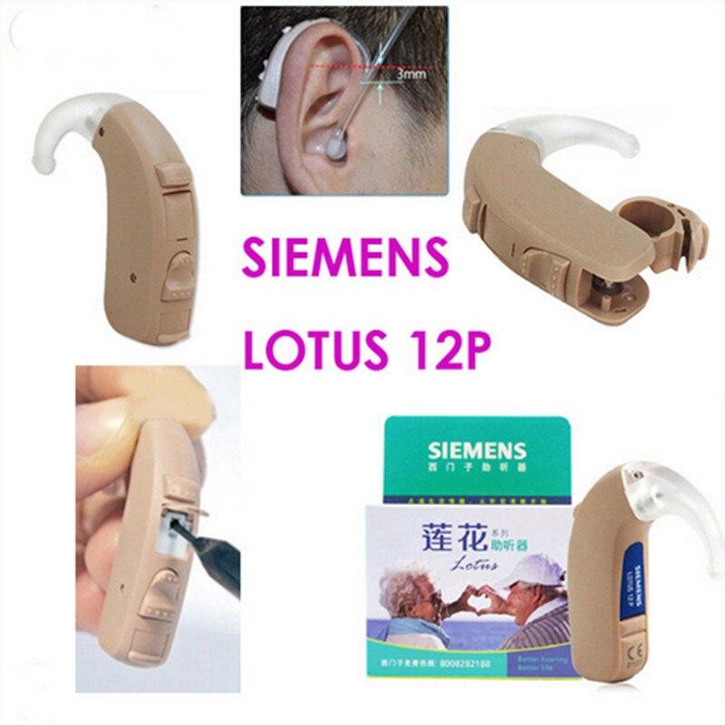 Siemens Numérique Aide Auditive lotus 12 p Haute Puissant audifonos par sordos prothèses auditives pour perte profonde Livraison Gratuite